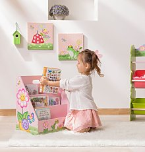 Magic Garden Kids Bookshelf Bookcase Book and Toy