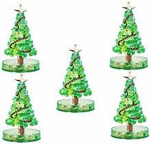 Magic Growing Christmas Tree Pack of 5 - Hunpta