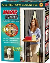 Magic Mesh Magnetic Curtain Hands Free Net Screen