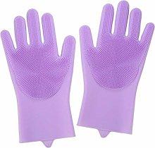 Magic Silicone Dishwashing Gloves Durable High