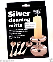 Magic Touch Silver cleaning Mitts for cleaning and