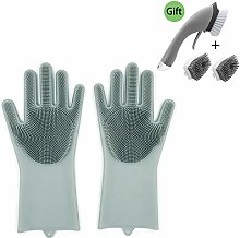 Magic Washing Up Gloves,Hengweiuk Reusable