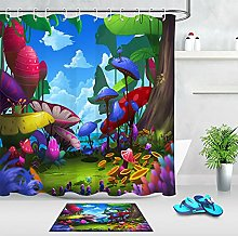 Magical fairy tale forest High-definition printed