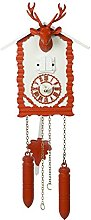 magicaldeco Black Forest Trend Modern Cuckoo Clock