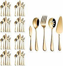 MagicPro 45 Pieces Royal Gold Stainless Steel