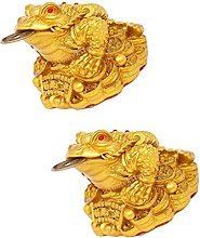 MagiDeal 2 Pieces Feng Shui Money Lucky Fortune
