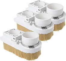 MagiDeal 3pcs Dust Cover Shoe Cleaner for CNC