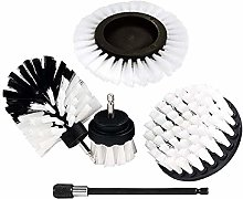 MagiDeal 5Pcs Home Drill Brush Attachment -
