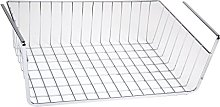MagiDeal Chrome Storage Wrap Rack Under Shelf