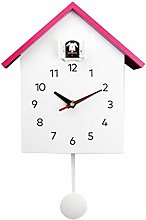 MagiDeal Cuckoo Clock, Birdhouse Minimalist Modern
