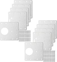 MagiDeal Hinge Repair Plate, Stainless Steel