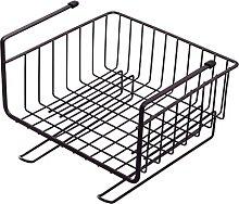 MagiDeal Iron Wire Storage Basket Desk Wire Shelf