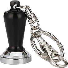 MagiDeal Stainless Steel Coffee Tamper Keyring
