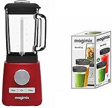 Magimix 11613 Le Blender, Red Finish & 17243