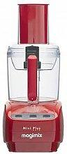 Magimix Le Mini Plus Food Processor- Red