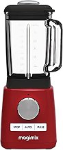 Magimix Power Steel Blender Premium in Red with