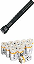 Maglite S4d015 4d Cell Flashlight - Black with