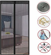 Magnet Door Curtain with Heavy Duty Mesh,Magnetic
