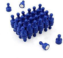 Magnet Expert Blue Skittle Magnet - Office &
