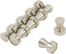 Magnet Expert  Chrome Skittle Pot Magnet ( 12mm