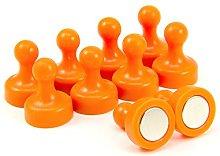 Magnet Expert High Power Orange Skittle Magnet -