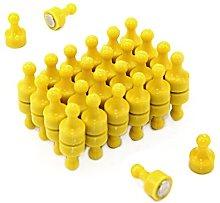 Magnet Expert Yellow Skittle Magnet - Office &