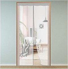 Magnet Fly Screen Door Insect Protection,120x210cm