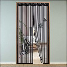 Magnet Fly Screen Door Insect Protection,125x205cm