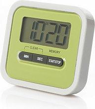 Magnet Kitchen Timer 100-Minute Digital Count Up &