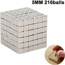 Magnetic Building 216pcs 5mm Fidget Magnets Gadget