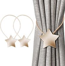 Magnetic Curtain Tieback Decorative Rope Retainer