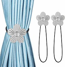 Magnetic Curtain Tiebacks Clips, 2 Pack Classic