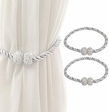 Magnetic Curtain Tiebacks Crystal Drapery Tie