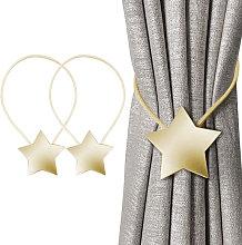 Magnetic Curtain Tiebacks Decorative Rope Retainer