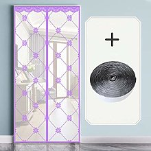 Magnetic Door Screen Door Mesh Fly Mosquito