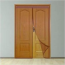 Magnetic Fly Screen Door,195x265cm Magnetic Mesh