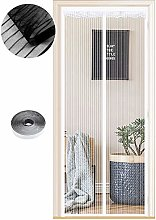 Magnetic Fly Screen Door, 54 Sizes, 140 x 205cm,
