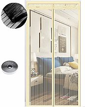 Magnetic Fly Screen Door, 54 Sizes, 80 x 200cm,