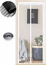 Magnetic Fly Screen Door, 54 Sizes, 90 x 210cm,