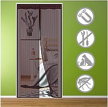 Magnetic Fly Screen Door 80x195cm Fly Insect