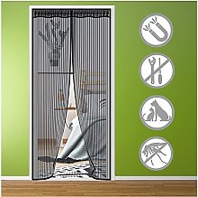 Magnetic Fly Screen Door 85x200cm Fly Insect