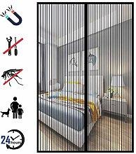 Magnetic Fly Screen Door, Heavy Duty Mesh Curtain