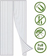 Magnetic Fly Screen Door, Keep Bugs Out, Closes