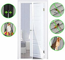 Magnetic Fly Screen Door Mesh Curtain Insect