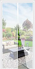 Magnetic Fly Screen Door, Mesh Fly Curtain Keep