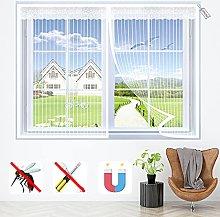 Magnetic Fly Screen Door Window 160x160cm, Insect