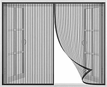 Magnetic Fly Screen Door Window,Automatic Closure