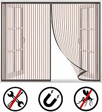 Magnetic Fly Screen Door Window, Black Insects