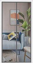 Magnetic Fly Screen Mesh Door, 75cm (Width) x