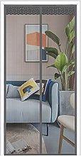 Magnetic Fly Screen Mesh Door, 85cm (Width) x